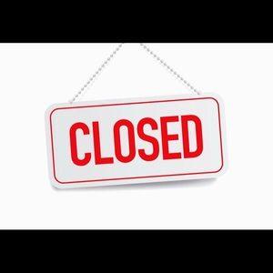 Closet closed.